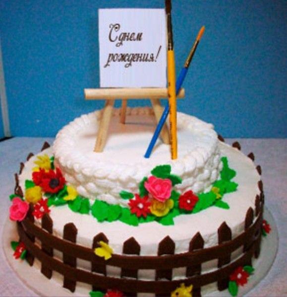 Поздравления с днем рождения женщине-художнику